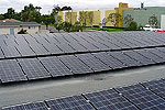 Photo of North Clairemont Library Photovoltaics