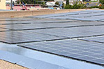 Photo of Oak Park Library Photovoltaics