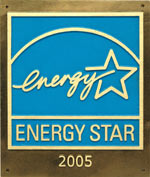 Federal Energy Star label for building efficiency