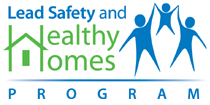 Graphic of Lead Safety and Healthy Homes Program logo