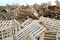 Photo of wood pallets