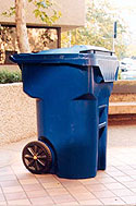 Photo of recycle trash container