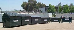 Photo of Recycling Dumpsters