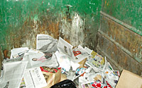 Photo of Recycling Dumpster