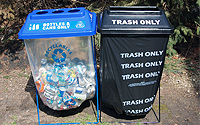 Photo of Event Recycling Containers