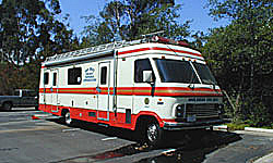 Photo of Communications and Command Van