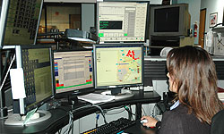 Photo of woman at dispatch desk