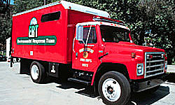 Photo of Emergency Response Team vehicle