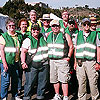 CERT volunteers at the H1N1 Distribution
