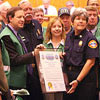 Photo of CERT Day Proclamation in City Council Chambers