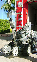 Photo of bomb disposal robot