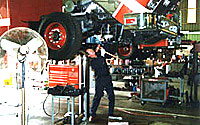 Photo of mechanic working