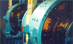 Photo of elevator machinery
