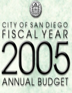 Fiscal Year 2005 Annual Budget Cover Page