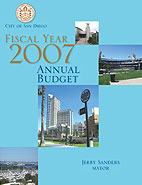 Fiscal Year 2007 Annual Budget Cover Page
