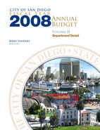 Fiscal Year 2008 Annual Budget Cover Page