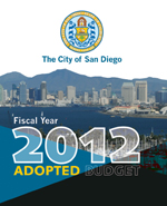 Fiscal Year 2012 Adopted Budget Cover Page