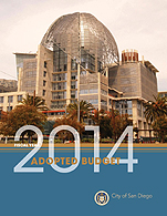 Fiscal Year 2014 Adopted Budget Cover Page