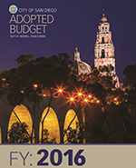 Fiscal Year 2016 Adopted Budget Cover Page