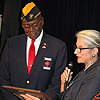 Photo from the Montford Point Marines Celebration