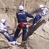 Photo of a Cliff Rescue