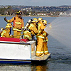 Photo of a Marine Firefighting Crew