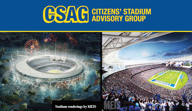 Citizen's Stadium Advisory Group collage