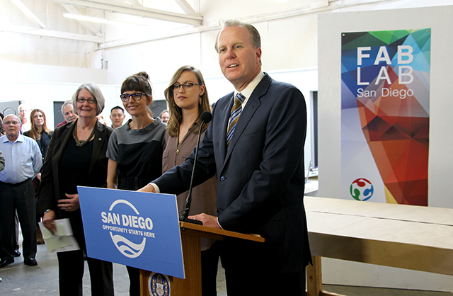Photo of Fab Lab San Diego Opening