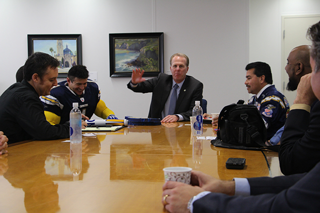 Photo of Chargers Fan Meeting