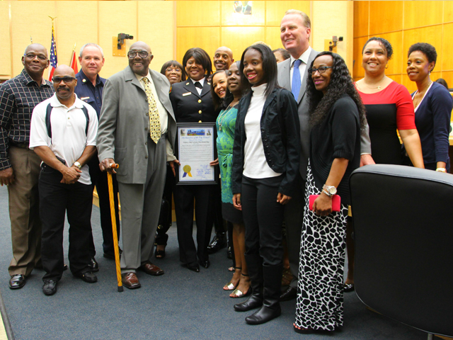 Photo taken at Deputy Chief Lorraine Hutchinson Day proclamation ceremony