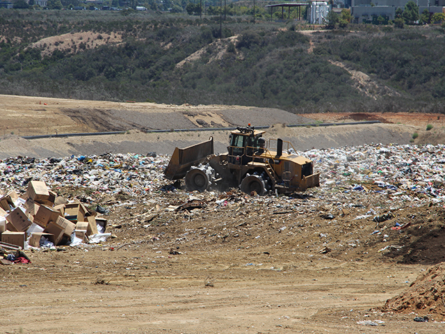 Photo of the Miramar Landfill