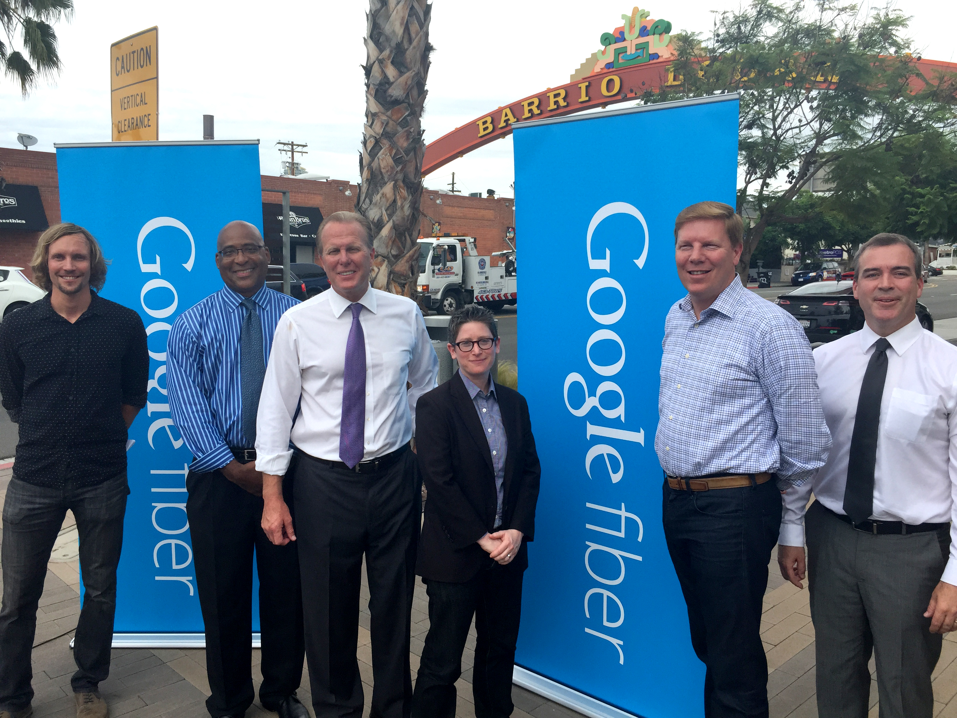 Photo of Google Fiber Anouncement press conference
