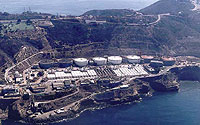 Aerial Photo of Point Loma Water Treatment Plant