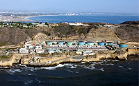 Aerial Photo of Point Loma Wastewater Treatment Plant