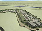 Rendering of South Bay Water Reclamation Plant