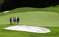 Photo of Golfers on North Course Green