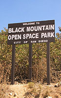 Photo of Black Mountain Welcome Sign