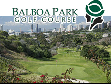 Photo of Balboa Park Golf Course and Logo