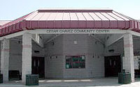 Photo of César Chávez Community Center