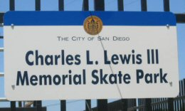 Photo of Skate Park Sign
