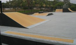 Photo of Charles L. Lewis III Memorial Skate Park