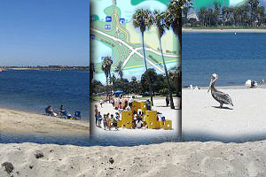 Photo Collage of Mission Bay