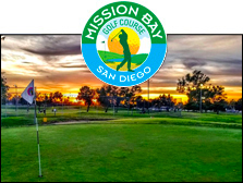 Photo of Mission Bay Golf Course and Logo