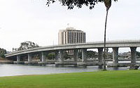 Photo of Mission Bay, bridge and hotel
