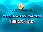 Image of Team Players Wanted Title Card