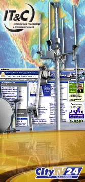 Photos of Web Page and Communications Equipment