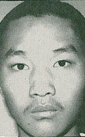 "Photo of Fugitive Suspect Chang Chi Kao (aka ""Gripper"")"