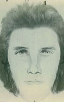 Drawing of Fugitive Suspect