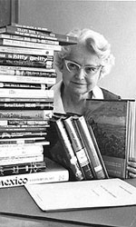 Photo of Clara Breed - City Librarian from 1945-1970