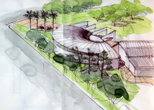 Illustration of Pacific Beach/Taylor Branch Library